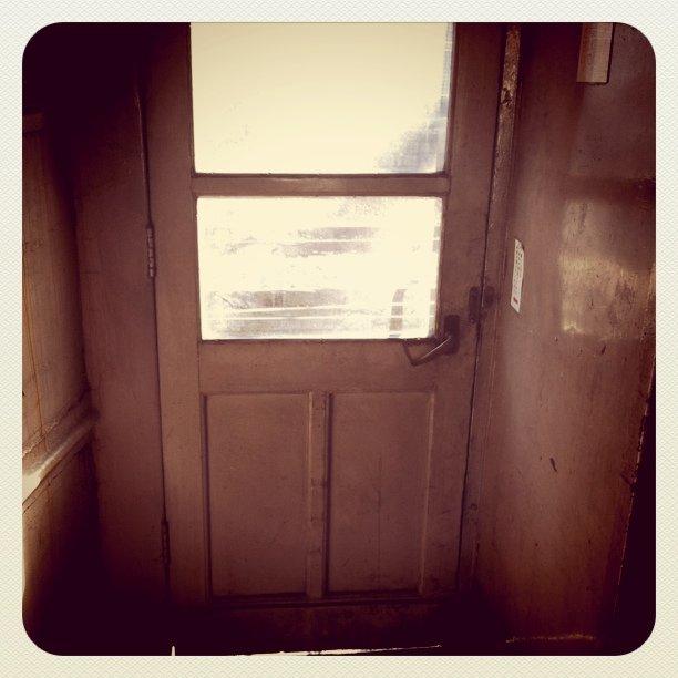 SLの乗降ドア