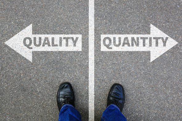 量と質、どちらが大事ですか?二項対立の問い